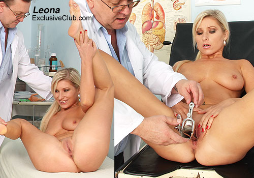 Sporty blonde best medical porn video shot in HD